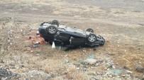 AFYON KOCATEPE ÜNIVERSITESI - Afyonkarahisar'da Trafik Kazası Açıklaması 3 Yaralı