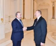 AZERBAYCAN CUMHURBAŞKANI - Bakan Çavuşoğlu Aliyev'le Görüştü