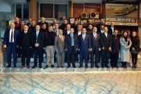 MEHMET AKıN - Başkan Kayda'dan MHP Yönetimine 'Hayırlı Olsun' Ziyareti