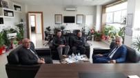 TICARET VE SANAYI ODASı - Başkan Yaman'dan Bilecik TSO'ya Ziyaret