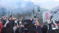 ÜLKER - Beşiktaş Derbi Maç İçin Yola Çıktı