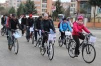 BİSİKLET YOLU - Bisiklet Yolu İçin Görme Engellilerle Birlikte Pedalladılar