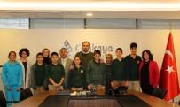 SOSYAL DEMOKRAT - Çankaya Belediye Başkanı Taşdelen 27 Aralık Lions Ortaokulu Öğrencileri Ve Öğretmenlerini Ağırladı