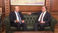 AZERBAYCAN CUMHURBAŞKANI - Çavuşoğlu Azerbaycanlı Mevkidaşı İle Görüştü