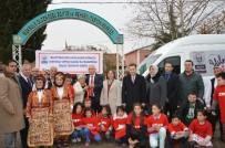 SELAMI KAPANKAYA - Engelliler Okuluna Minibüs Hediye Edildi