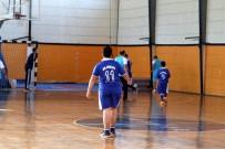 DIYALOG - Fethiye'de Protokol Özel Sporcular İle Futsal Oynadı