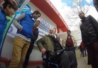 ENGELLİ KADIN - İlkadım Belediyesi Engelleri Kaldırıyor