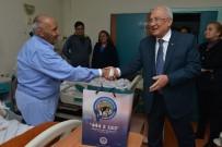 DEVLET HASTANESİ - Kocamaz, Hasta Ve Hasta Yakınlarını Ziyaret Etti