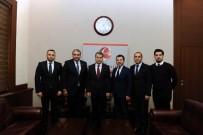 DERNEK BAŞKANI - Lider İş Adamları Vali Çelik'i Ziyaret Etti