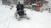 Rizeli Kendi Kar Jet-Skisini Kendisi Yaptı