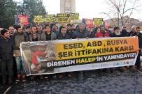 MAZLUM - STK'lardan Halep Katliamına Tepki