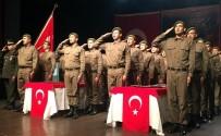 AHMET OKUR - Uşak'ta Kısa Dönem Askerler Yemin Etti