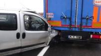 Aksaray'da Trafik Kazası Açıklaması 1 Yaralı