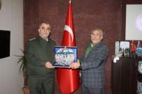 Alay Komutanı Akça'dan, Başkan Karaaslan'a Veda Ziyareti
