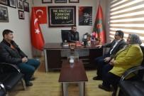 AHMET ATAÇ - Başkan Ataç'tan Şehit Aileleri Derneği'ne Geçmiş Olsun Ziyareti
