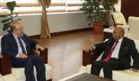 SRI LANKA - Başkan Gümrükçüoğlu, Sri Lanka'nın Ankara Büyükelçisi Amza'yı Makamında Kabul Etti