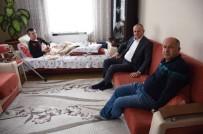 TERÖRE LANET - Başkan Keleş'ten Gaziye Ziyaret