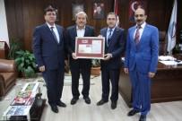 AYA YORGI - Bilecik PTT Baş Müdürü Bozkurt, Osmaneli Belediye Başkanı Şahin'i Ziyaret Etti