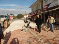 ALT YAPI ÇALIŞMASI - Çardak'ta İskele Meydanı Düzenlemesi