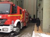 SERVERGAZI - Denizli Servergazi Devlet Hastanesinde Yangın