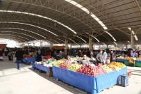 MESUT ÖZAKCAN - Efeler'de Fatih Mahallesi Kapalı Pazaryeri Hizmete Açıldı