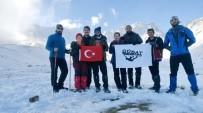 ERCIYES - GÜDAT Erciyes Zirvesinde Gaziantep'in Kurtuluşunu Andı