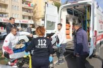 ERTUĞRUL GAZI - Hastaneden Çıkan Yaşlı Kadına Otomobil Çarptı