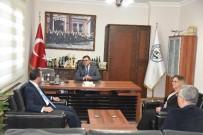 Kaymakam Arslan'dan Başkan Tokat'a Ziyaret