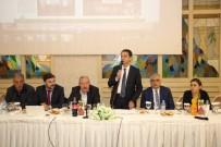 VAZELON MANASTıRı - Maçka Belediye Başkanı Koçhan Muhtarlarla Bir Araya Geldi