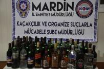Mardin'de yılbaşı öncesi kaçak içki ve sigara operasyonu