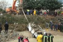 SEL AFETI - Mersin'de Selde Hayatını Kaybeden Çiftin Otomobiline Ulaşıldı
