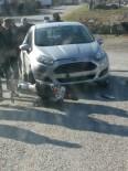 Milas'ta Trafik Kazası Açıklaması 1 Yaralı