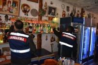 ALKOLLÜ İÇKİ - Ortaca'da Jandarmadan Kaçak İçki Denetimi
