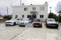 LÜKS OTOMOBİL - Sahte Belgelerle Türkiye'ye Getirilen 4 Otomobil Ele Geçirildi