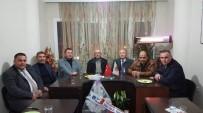 TÜRK SAĞLıK SEN - Salihli MHP, Sendika Temsilcileri İle İstişare Yaptı