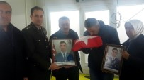 Seydişehirli Şehidin Tabutuna Sarılı Türk Bayrağı Babasına Teslim Edildi