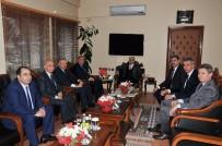 CEYHAN - Sütcü, Vali Demirtaş'a AOSB'nin Yatırımlarını Anlattı