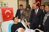 ABDULLAH ERIN - Vali Erin Yaralı Polis Memuruyla Bir Araya Geldi