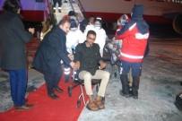 RECEP AKDAĞ - Yemen'den 160 Hasta Tedavi İçin Türkiye'ye Geldi