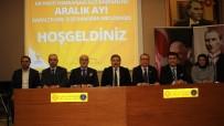HAKAN ÇAVUŞOĞLU - Ak Parti Osmangazi'de 2016'Nın Son Danışma Toplantısı Yapıldı
