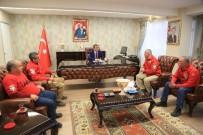 KAMU YARARı - AKUT Milas Kaymakam'ı Arslan'ı Ziyaret Etti
