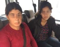 KAPKAÇ - Altın Kızlar Suçüstü Yakalandı