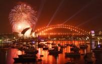 SIDNEY - Avustralya Yeni Yıla Girdi