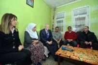 VODAFONE - Başkan İnönü, Şehit Ailesini Yeni Yıla Girerken Yalnız Bırakmadı