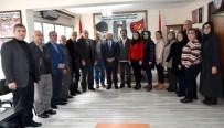 GAZİLER DERNEĞİ - Başkan Kayda'dan Şehit Ailelerine Ziyaret