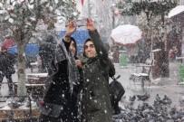 SELIMIYE CAMII - Edirne'de Kar Etkisini Arttırdı