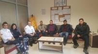 SAĞLıK SEN - Eskişehir Sağlık-Sen Şube Başkanı Köksal'ın İlçe Ziyareti