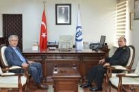 Garnizon Komutanı Selvitop'dan Rektör Kaplan'a Ziyaret