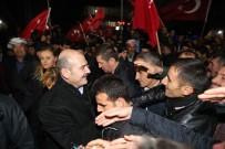 DERECIK - İçişleri Bakanı Soylu'ya Şemdinli'de Yoğun İlgi