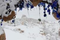 GÜVERCINLIK - Kapadokya'dan Muhteşem Kar Manzaraları